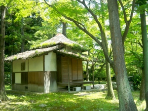 Tea house in Nagoya castle area