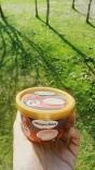 Ice cream on a warm sunny day.
